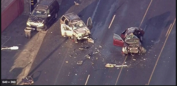 PCH Accident Video: Major Crash At Pacific Coast Highway, Fire Shut Grapevine, One Dead